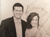 Wedding Rain Pencil Drawing by Mike Kitchens Timeless Family Art 2016