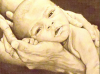 baby-boy-in-parents-hands-pencil-drawing-mike-kitchens-2012