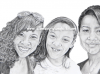 three-sisters-portrait-pencil-drawing-kitchens-mike-kitchens-2011