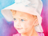 young-girl-in-white-hat-pastel-drawing-bella-grace-mike-kitchens-2012