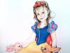 Snow White Unique Pencil Portrait