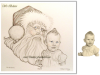 santa-and-baby-girl-pencil-portrait-drawing-carol-mike-kitchens-2011