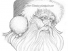 santa-claus-portrait-pencil-drawing-mike-kitchens-2011