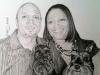 man-woman-with-two-dog-pencil-portrait-elliotte-dunlop-mike-kitchens-2013