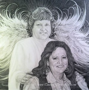 Memorial Sketch Portraits in Fort Worth, TX   Timeless Family Art