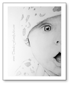 Baby Pencil Portrait II- MIke Kitchens 04292014
