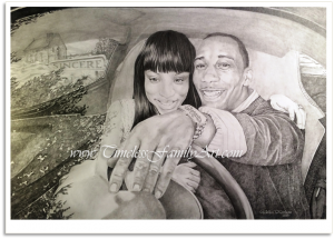 Endless Futures B&W Pencil Portrait Marci Thrasher - Mike Kitchens 0727014 Post