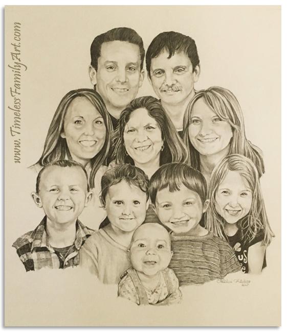 Custom Paintings & Portrait Sketches Dallas, TX