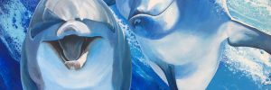 Dolphin Portraits & Art