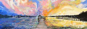 Custom Psychedelic Paintings & Artwork Texas